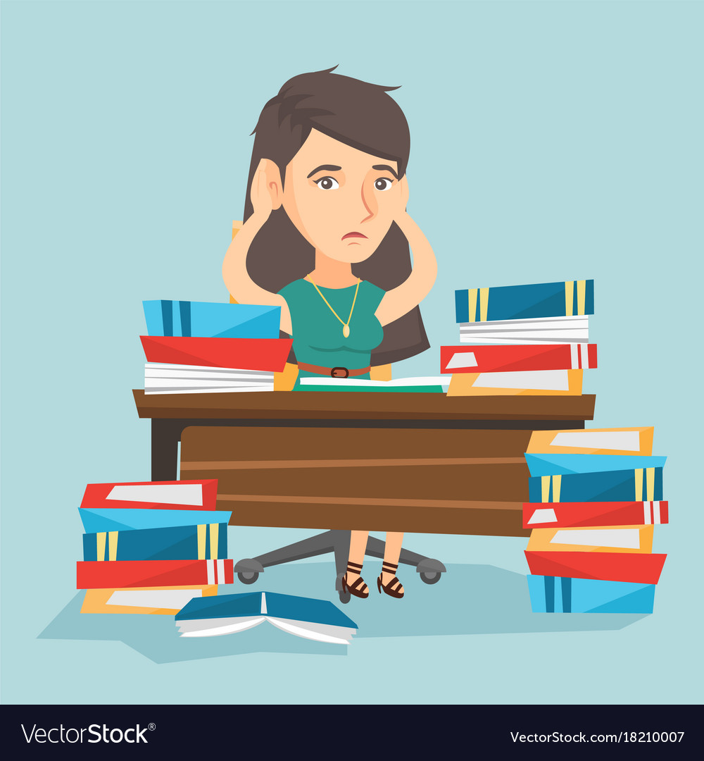 desperate-student-studying-with-many-textbooks-vector-18210007